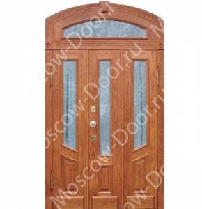 металлические профильные двери арочные