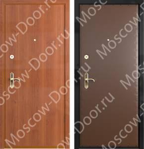 металлические двери с ламинированным покрытием