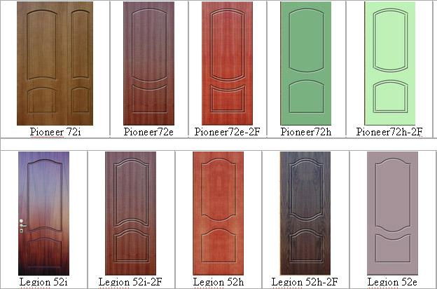 цвета пвх на металлические двери